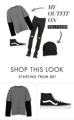 """Untitled #63"" by lenikka on Polyvore featuring RtA, Juun.j, Vans, 21 Men, men's fashion and menswear"