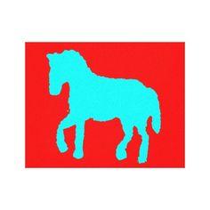 horse blue (eliso) lona envuelta para galeras http://www.zazzle.com/horse_blue_eliso_lona_envuelta_para_galerias-192498837994508782?lang=es