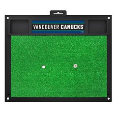 Vancouver Canucks Golf Hitting Mat (20in L x 17in W)