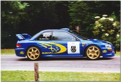 Richard Burns 1999 Subaru Impreza WRC. Goodwood Festival of Speed 1999.