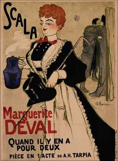 Scala/Marguerite Deval by Andrien Barrère (1900)