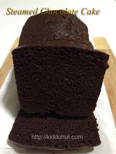 Looking for a super moist and soft steamed chocolate cake Steamed Chocolate Cake 蒸巧克力蛋糕? Here is the super fast and easy recipe to fix your chocolate crave.