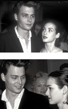 The best couple of the Johnny Depp and Winona Ryder. Johnny Depp Winona Ryder, Young Johnny Depp, Winona Forever, Johny Depp, Famous Couples, Celebrity Pictures, Actors & Actresses, Hollywood Actresses, Celebrity Crush