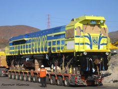 CRÓNICA FERROVIARIA: Chile: Con 12 locomotoras la empresa Ferronor refu...