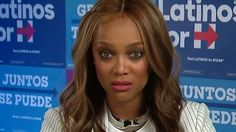 Tyra Banks quoted Bernie Sanders when asked by CNN's Frederika Whitfield Saturday if news of the latest email probe had made campaigning more difficult.