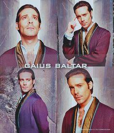 Baltar.  BSG