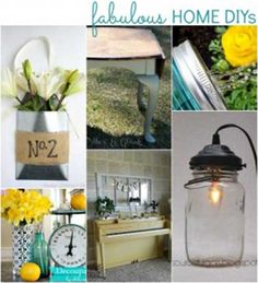154 Fabulous Home DIY Projects