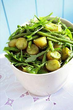 Kartoffel-Bohnen-Salat Genovese