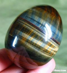 Blue Tiger Eye Egg,