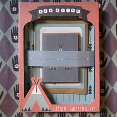 Beautiful Letter Writing Sets that are made in Melbourne and available from www.florenceandalbion.com