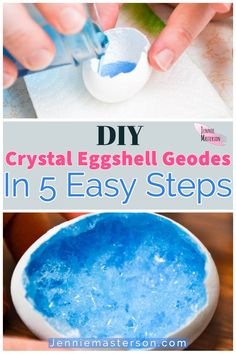 Crystals For Kids, How To Make Crystals, Diy Crystals, Borax Crystals, Grow Your Own Crystals, Fun Crafts For Kids, Summer Crafts, Diy Crafts To Sell, Diy For Kids