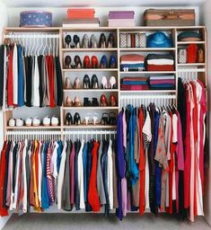 35 Awesome and Elegant California Closet Designs