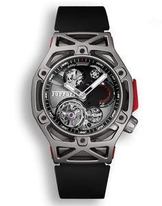 Hublot Techframe Ferrari Tourbillon Chronograph Titanium