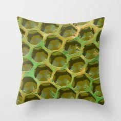 Pillow http://society6.com/product/green-honey-b2o_pillow#25=193&18=126