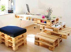 Construire table basse palette – récup et déco simpa - salon-de-palette-entier-design-bis-naturel