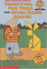 Three Pigs, One Wolf, Seven Magic Shapes (level (Scholastic Reader, Math) by Grace Maccarone 0590308572 9780590308571 Used Books, Books To Read, Math Literature, Math Tools, Reading Levels, Teaching Math, Kindergarten Math, Teaching Tools, Teaching Resources