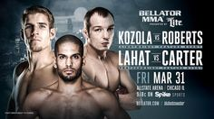 STEVE KOZOLA AGAINST JAKE ROBERTS & FEATHERWEIGHT BOUT FEATURING NOAD LAHAT AGAINST LLOYD CARTER ON BELLATOR 175 | REAL COMBAT MEDIA