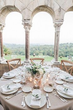Chic Rustic Wedding Provence & Image by Love Story Wedding Table Decor & Wedding Table & Wedding Ideas & Reception & Table Setting & Centerpieces & Menus & Table Numbers & Placecards & Nameplates The post Chic Rustic Wedding Provence Love Story Wedding, French Wedding Style, Chic Wedding, Decor Wedding, Trendy Wedding, Luxury Wedding, Wedding Bride, Wedding Pins, French Chateau Wedding Decor
