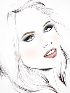 To use clinique products/ amazing drawings, cute drawings, pencil drawings, Amazing Drawings, Cute Drawings, Pencil Drawings, Fashion Illustration Face, Cover Girl Makeup, Face Sketch, Airbrush Art, Beauty Art, Art Sketchbook