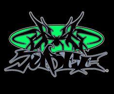 Typo Logo, Typography, Graffiti Font, Police, Type Illustration, Visual Aids, Aesthetic People, Logo Design, Graphic Design