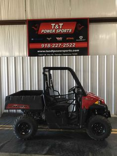 New 2016 Polaris Ranger® 570 ATVs For Sale in Oklahoma. The Hardest Working, Smoothest Riding and most comprehensive line of side-by-side utility vehicles on the planet. Choose from two-seat, full-size and CREW models for the trail, farm, hunt and so much more. NEW: Increased suspension travel and refined cab comfort, including standard tilt steering NEW: Enhanced styling and Pro-Fit accessory integration NEW: Powerful 44 HP ProStar® EFI engine features 10% more power