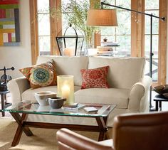 Chelsea Sectional Floor Lamp #potterybarn. Don't ask me how a piece of furniture makes me happy... I just love it