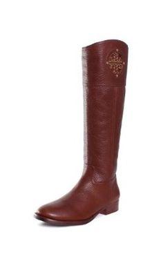 Amazon.com: Tory Burch Kiernan 35MM Riding Boots: Shoes
