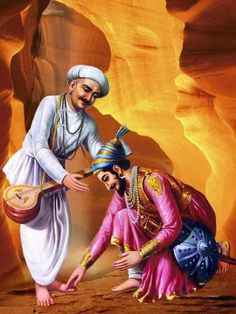 Shivaji maharaj and Saint tukarama Shivaji Maharaj Painting, King Of India, Freedom Fighters Of India, Shivaji Maharaj Hd Wallpaper, Saints Of India, Hd Wallpapers 1080p, 1080p Wallpaper, Warriors Wallpaper, India Painting