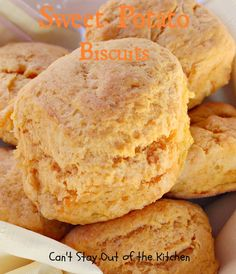 Sweet Potato Biscuits _ are heavenly, indeed. Each mouthful practically melts-in-your-mouth! This wonderful Paula Deen recipe is scrumptious to the taste buds!