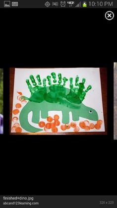 Dinosaurio plastica