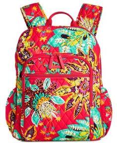 8f2824fd21b8 Campus Tech Backpack. Vera Bradley ...