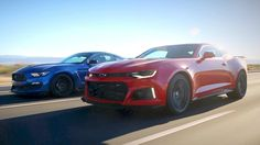 2017 Ford Mustang Shelby GT350R vs. 2017 Chevy Camaro ZL1