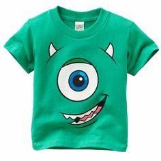 Monsters Inc party shirt idea.