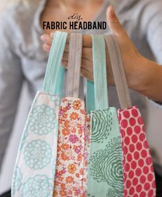 DIY Fabric Headband tutorial – Handmade Gift Series