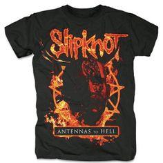 Slipknot 'Antennas To Hell' Black T-Shirt – Famous Rock Shop