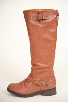 I Got Mine Boots-Cognac >> I am actually wearing these now and they are great!