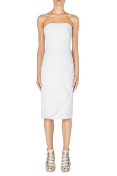 Shop Orchard Mile Roland Mouret White Kepler Dress