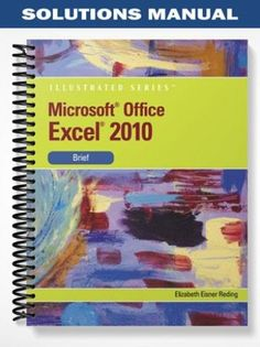Solution manual for cornerstones of cost management 3rd edition solutions manual for microsoft office excel 2010 illustrated brief 1st edition by elizabeth eisner reding fandeluxe Gallery