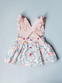 Toddler Pinafore Dress Toddler Dress Vintage Girls #KidsFashionDress