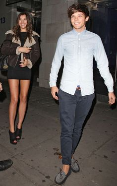 Louis: Make way for the queen!! Eleanor: Aw lou stop it Louis: Oh I wasnt talking about you  Eleanor: *laughs*