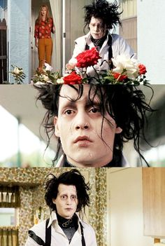 10 Movies That Will Boost Your Self-Esteem. Scenes from the movie Edward Scissorhands. #movies