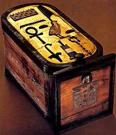 Cartouche-shaped box from The Valley of The Kings. Love seeing the original item some of my replica pieces were based on. This one is http://www.egyptianmarketplace.com/home-decor-boxes/boxes-storage-box-home-decor/egyptian-cartouche-box-yt7441