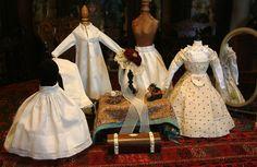 Superb 12 Piece Maison Huret Trousseau Including Mode Enfantine Dress, from kathylibratysantiques on Ruby Lane