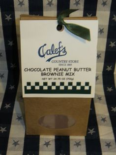 Calef's Chocolate Peanut Butter Brownie