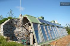 Europe's 1st Earthship house in France