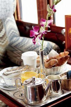 Breakfast Venice Simplon-Orient-Expres