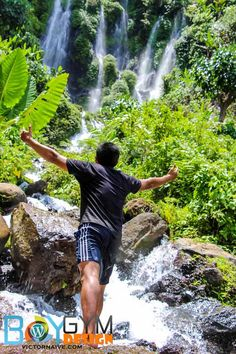 Sinulom Falls was discovered by the residents in year 2002 and became the newest addition in Cagayan de Oro's tourist spot.