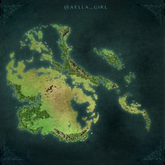 If Antarctica had forests instead of ice.