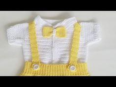 Crochet Baby Clothes Boy, Baby Boy Dress, Winter Baby Clothes, Baby Pants, Moda Crochet, Crochet Bebe, Crochet For Boys, Crochet Dolls, Easy Crochet Stitches
