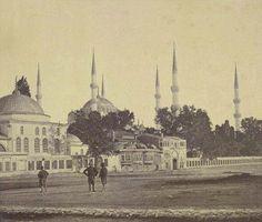 Sultan Ahmet Camii, 1855